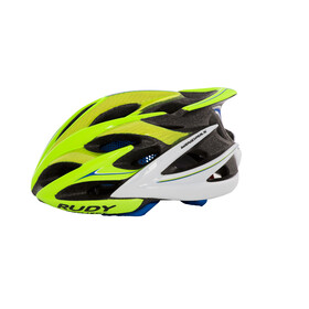 Rudy Project Windmax Helmet Lime Fluo-Blue (Shiny)